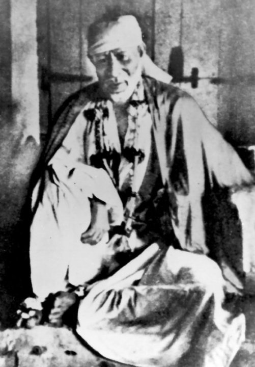 Sai Baba Of Shirdi Original Photo