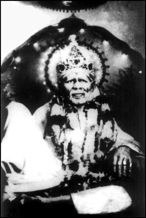 Sai Baba Of Shirdi Unseen Original Photo